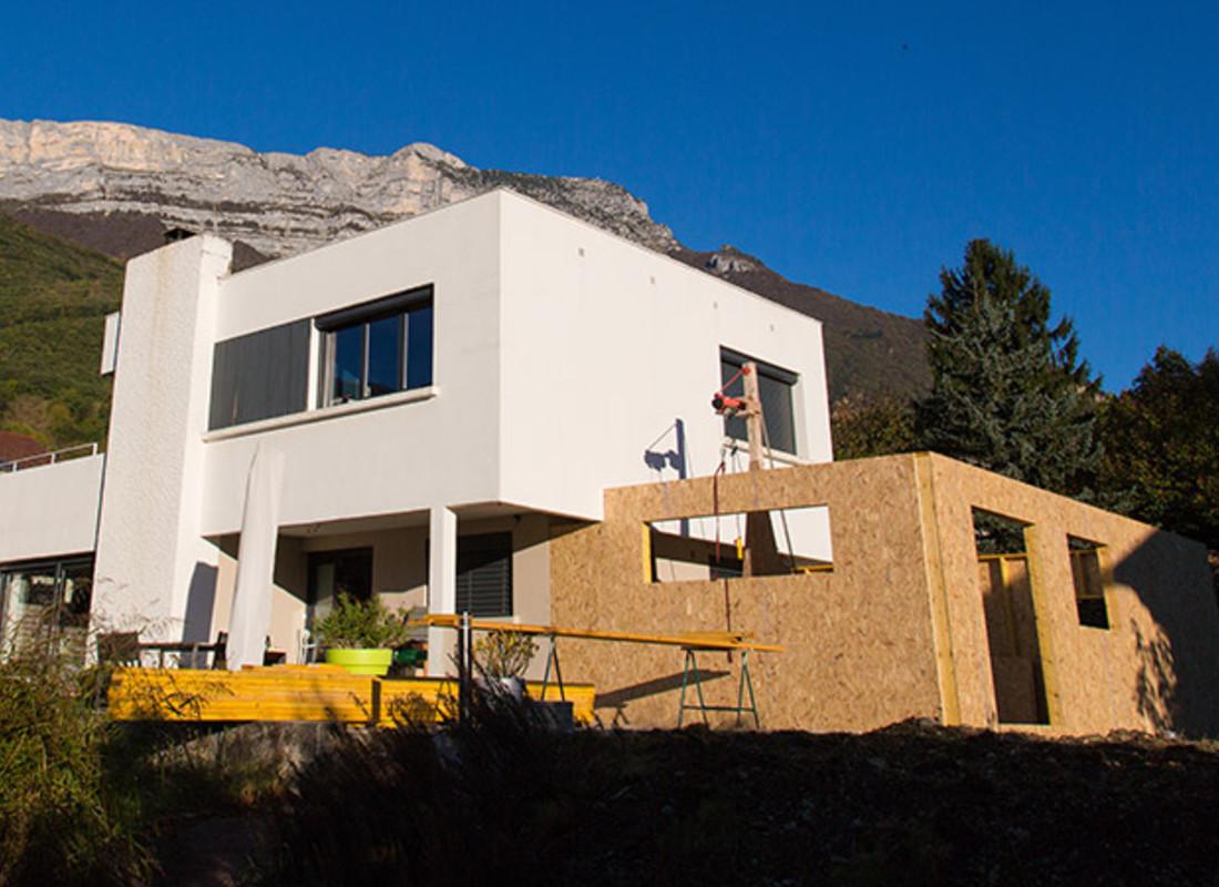 Maison En Bois Annecy agrandissement et extension maison bois annecy, haute-savoie